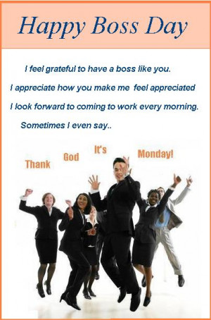Send This eCard Page To Your Boss or a Friend