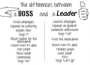 Attention Managers: Are you a boss or leader? #leadership #ceo http ...