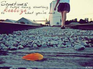 Losing Love Quote