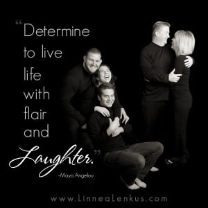 ... Quotes > All Inspirational Quotes > Family > Laughter by Maya Angelou