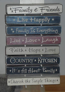 Primitive-Country-Rustic-Wood-Signs-Engraved-Assorted-Sayings