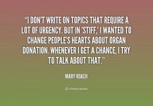Mary Roach Quotes