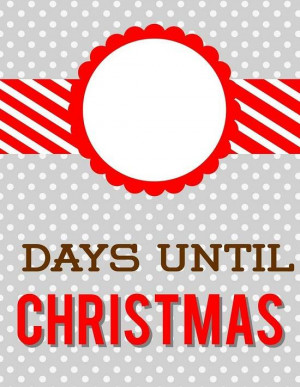6 days till christmas quotes quotesgram. Black Bedroom Furniture Sets. Home Design Ideas