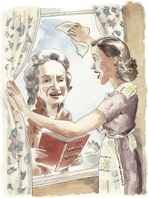 Betty Friedan's book gave American housewives a shock of recognition ...