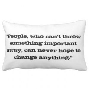 Armin Arlert Quote Pillow