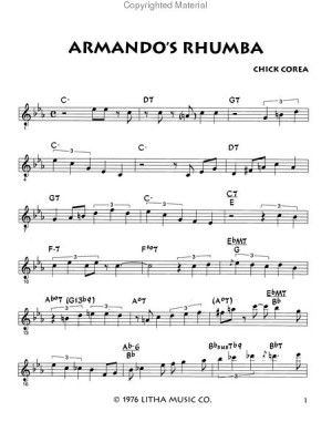 Chick Corea Spain Sheet Music