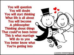 ... marriage Will do to you You better know what You're getting into via
