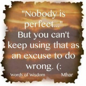 You can keep making excuses OR you can start making changes!