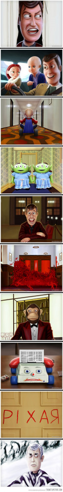 Funny photos funny Toy Story The Shining