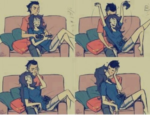 couple: Gamer Couple, Fashion Styles, Comic, Videos Games, Sweet Gifts ...