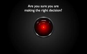 HAL 9000 = 8, Me = 0