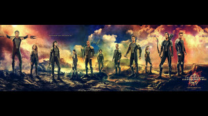 Hunger Games Catching Fire Movie Characters 2013 HD Wallpaper Photo ...
