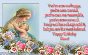 Birthday wishes for Mom. Mother happy birthday greeting ecards. Mother ...