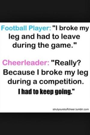 Cheerleading quotes, inspiring, motivational, sayings