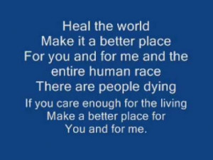 Heal The World Michael