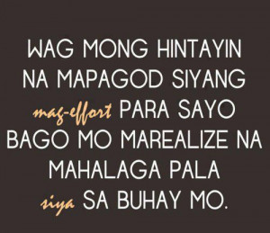Sad Love Quotes – Tagalog Love Quotes