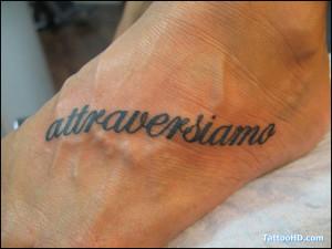 italian tattoos sayings , Italian Tattoos