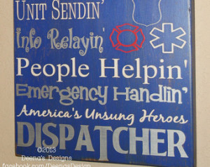 911 Dispatcher Wall Art, EMS Decor, Distressed Wall Decor, Custom Wood ...