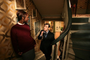 gayle ed stoppard still of michelle gayle and ed stoppard in joy