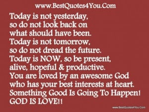 ... loved by an awesome god who has your best interests at heart god quote
