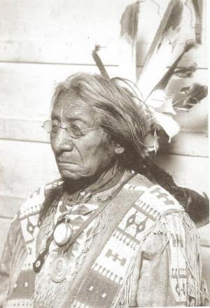 ... Eli Ricker described the old chief as