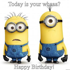 Minions Say Happy Birthday Minions say happy birthday