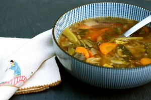 Asian Vegetable Soup -- put that