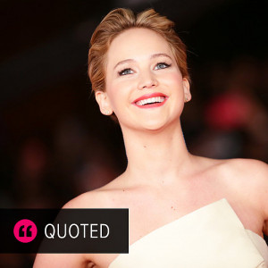 Jennifer Lawrence Quotes