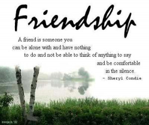 Beautiful Friendship Thoughts Friendship image quotes