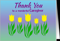 Thank You Cards for Cancer Caregiver