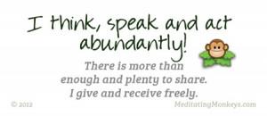 Abundance Quotes Clinic