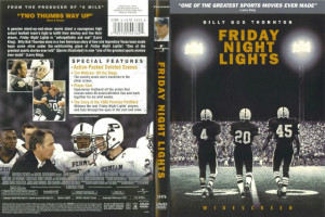 Yesterday, we talked about Friday Night Lights the book . Today we'll ...