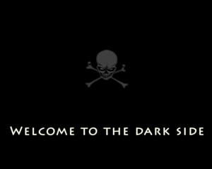 to the dark side by lopas1 customization wallpaper minimalistic dark ...