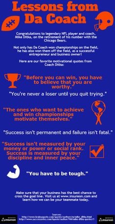 ... mike ditka inspirational quotes chicago bears quotes inspiration