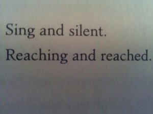 Reached by allie condie quote