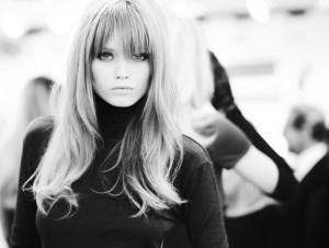 Versace backstage__2010
