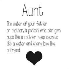 aunt more aunts life aunts 3 awesome aunts aunt quotes aunts and ...