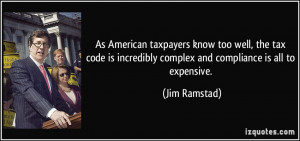 As American taxpayers know too well, the tax code is incredibly ...