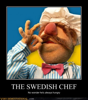 The Chef spoke first. Much of what he said, this reporter could not ...