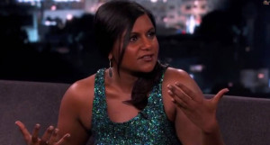 Mindy Kaling Didn't Appreciate All Those Backhanded Compliments On ...