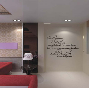 ... serenity Quote Wall Stickers Art Decal Sticker Home Lord Decals Quote