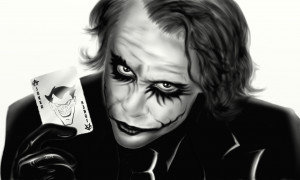 The Joker (Heath Ledger) by cromarlimo