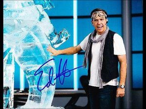 Edgar Garbisch Signed Photograph - Ed Helms 8x10 Authentic The ...