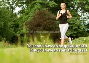 Woman Running Quotes