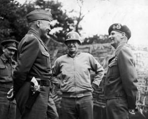Ike's top 3 lieutenants: Patton, Montgomery, Bradley. BAMF OVERLOAD! # ...