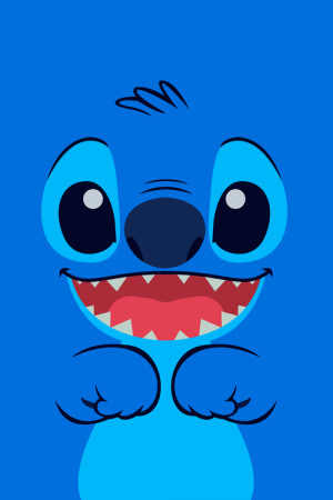 cute disney happy movies blue colorful smiles characters stitch Lilo ...