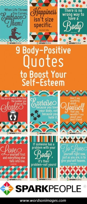 Positive self esteem quotes