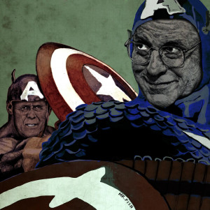 Captains-America-Dick-Cheney-and-Donald-Rumsfeld-rigged-to-self ...