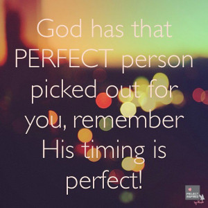 Perfect Timing Quotes, Perfect Time, Christian Girl Quotes God, Quotes ...