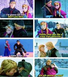 Frozen~Anna and kristoff More